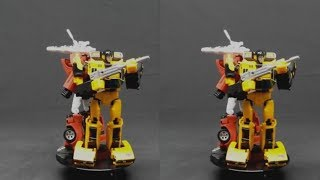 Transformers in Stereoscopic 3D (SBS 3D video)