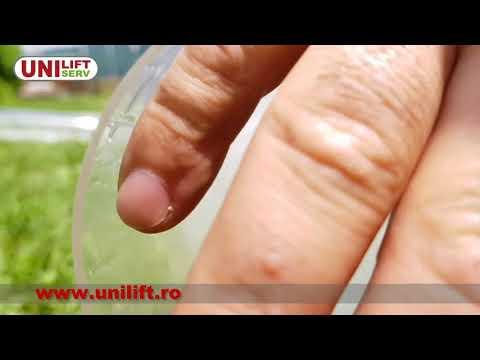 Demonstratie curatare conducte - duza rotativa KEG