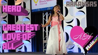 """Angelica Hale """"Hero"""" & """"Greatest Love of All"""" Complete Performance"""