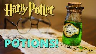DIY Harry Potter Potion Bottles!