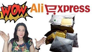#80 Посылки с AliExspress Всё для маникюра