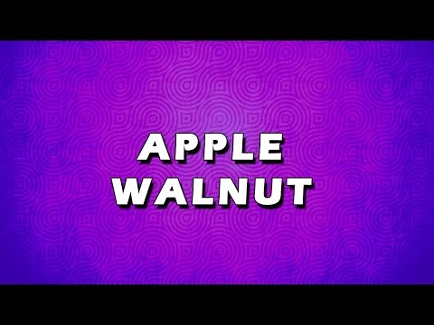 APPLE WALNUT | EASY TO LEARN | EASY RECIPES