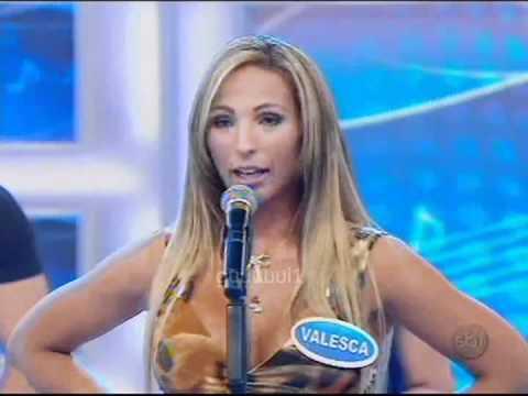Valesca Popozuda cantando quero te dar pro Silvio (16/01/2011) letöltés