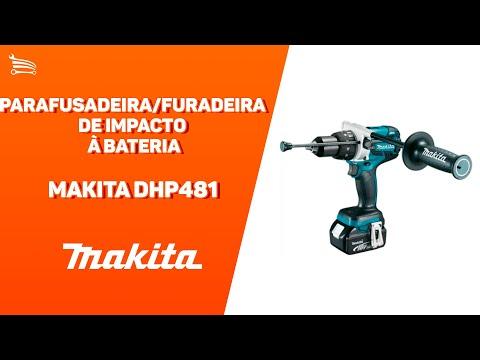 Parafusadeira/Furadeira de Impacto a Bateria 18V Li-Ion com Carregador 2 Bat. e Maleta - Video