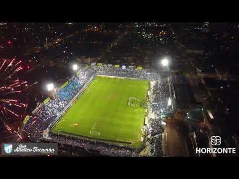 """""""Recibimiento Club Atletico Tucuman vs Nacional (Col) - 8vos Final"""" Barra: La Inimitable • Club: Atlético Tucumán"""