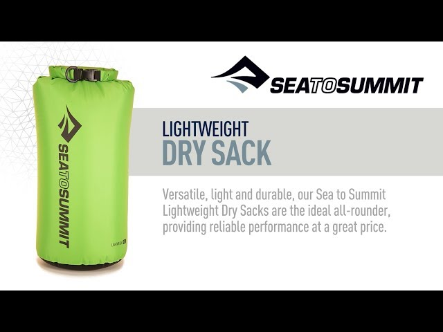 Видео Гермомешок Sea to Summit Lightweight Dry Sack Red 2L