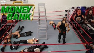 """Money in the Bank"" Ladder Match 2018 (Stop Motion)"