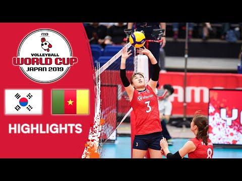 KOREA vs. CAMEROON - Highlights | Women's Volleyball World Cup 2019