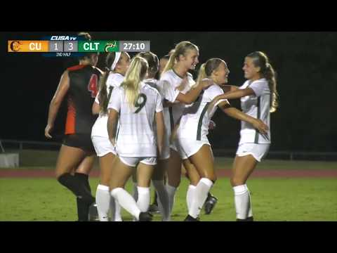 Charlotte49ers Women's Soccer vs Campbell Highlights