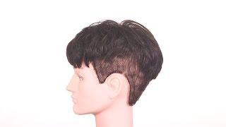 K-Pop Two Block Haircut - TheSalonGuy