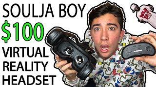 "I WASTED $100 on Soulja Boy's NEW ""Virtual Reality Headset"" 😂"