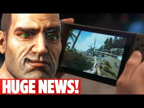 WHAT'S NEW WITH ARK?! HUGE ANNOUNCEMENT! Ark: Survival Evolved Nintendo Switch Edition!