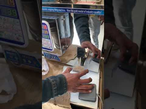 Semi Automatic Granules / Powder Filling Machine