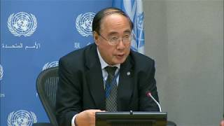 Wu Hongbo (DESA) on launch of Sustainable Development Goals (SDGs) Report 2017 - Press Conference