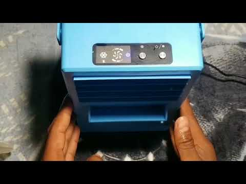 Madoats Portable Air Conditioner Fan Unboxing Review by Slick