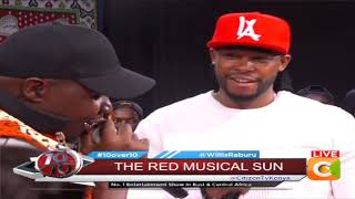 10 OVER 10 | Red San performing live on stage