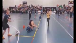Спортивные приколы с девушками.