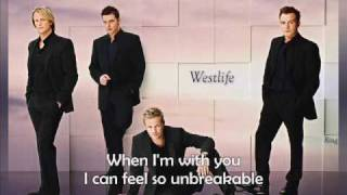 Westlife Us Against the world with lyrics