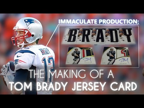 Immaculate Production: The Making of a Tom Brady Game-Worn Jersey Card