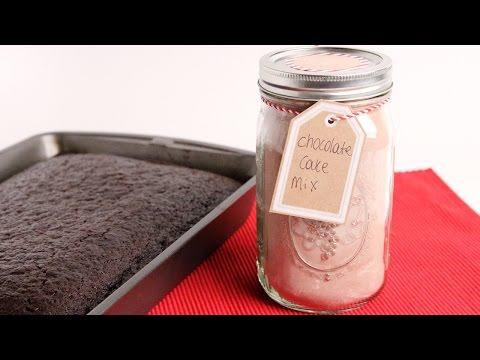 DIY Chocolate Cake Mix – Edible Gifts