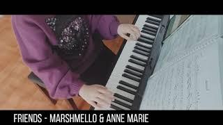 FRIENDS - Marshmello & Anne Marie | 피아노 커버