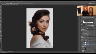 Как сделать идеально белый фон на фото. Урок фотошопа. Видеоуроки Pro Photoshop