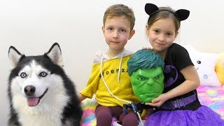 Едем покупать новые Игрушки Много Подарков От Маленькая мисс и Макса для Павлика VLOG for children