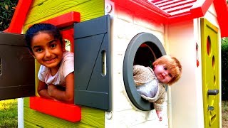Esma and Doll funny Hide and Seek for kids video