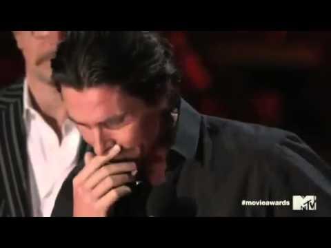 MTV Movie Awards 2012   Кристиан Бэйл прослезился, вспомнив Хита Леджера