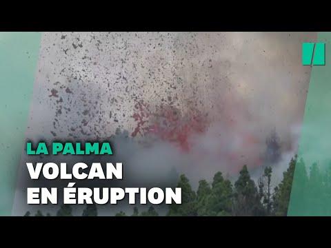 Espagne: le volcan Cumbre Vieja entré en éruption sur l'île de La Palma