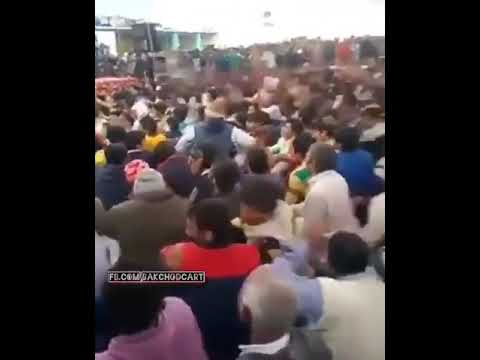 Indian style crowd surfing....different from all universe