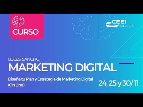 Loles Sancho: Cómo hacer un Plan de marketing estratégico digital paso a paso[;;;][;;;]