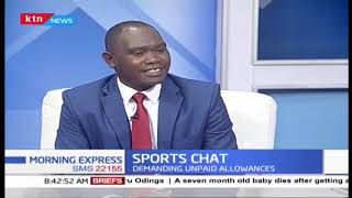 Kenya Paralympics team stage sit-in | SPORTS CHAT |  PART 2