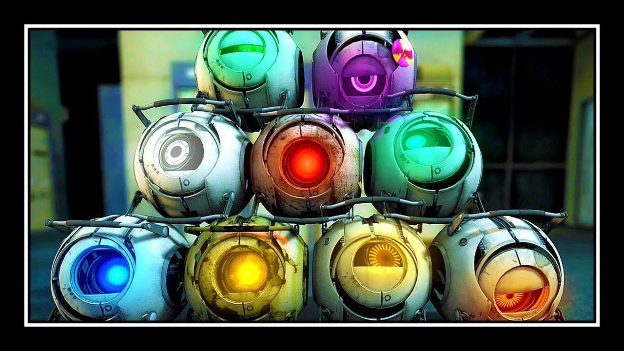 You've Met The Pyro. You've Met The Heavy. Now Meet Portal 2's Cores