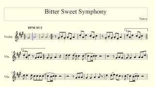 Bitter Sweet Symphony - Verve (violin)