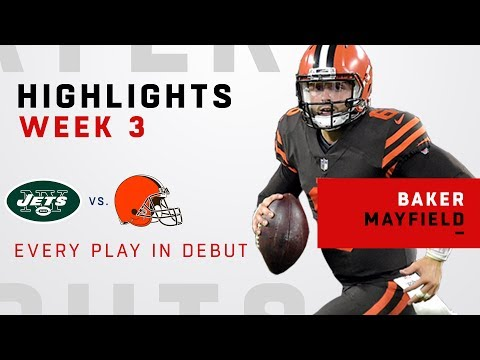 Every Baker Mayfield Play in NFL Debut!