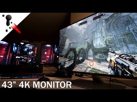 ViewSonic VX4380-4K Review (10bit IPS 43