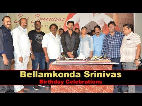 Bellamkonda Sai Srinivas Birthday Celebrations