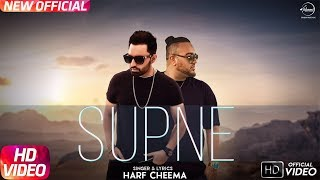 Supne ( Mp3) Harf Cheema Ft Deep Jandu | Latest Punjabi Song 2017 | Speed Records