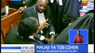 Wakili wa familia ya Cohen ametaka wakili wa Sarah Wairimu  Philip Murgor kujiondoa katika kesi hiyo