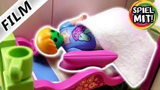 Playmobil Film Deutsch  HANNAH MUSS KOTZEN MUSS SIE OPERIERT WERDEN Kinderserie Familie Vogel