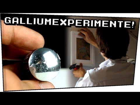 FAIL! / EXPERIMENTE mit GALLIUM / Wandspiegel selber machen  - Heimexperimente #67