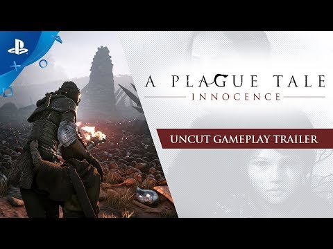 , title : 'A Plague Tale: Innocence - Uncut Gameplay Trailer | PS4'