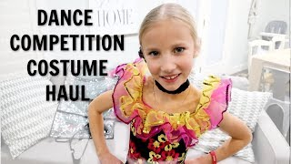 BRIELLES DANCE COMPETITION COSTUME HAUL PLUS DANCE Q&A