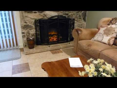 PuraFlame Western 33 inch electric fireplace review