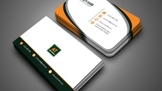 Clean | Creative Business Card -Adobe Illustrator Tutorial
