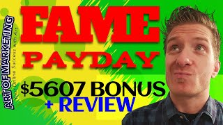 Fame Payday Review, Demo🤴$5697 Bonus, Fame Pay Day Review