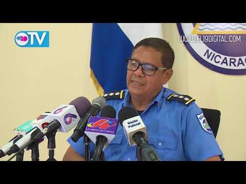Policía Nacional presenta terroristas que sembraron el caos en Carazo y Managua