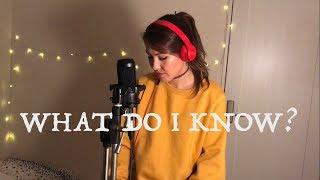 Deborah Campioni - What Do I Know? (Cover)