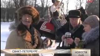 Учения на Семёновском плацу 7 января 2015 г. (Телеканал Звезда)